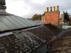 Roof in need of repair